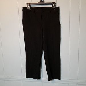 White House Black Market Slim Crop pants